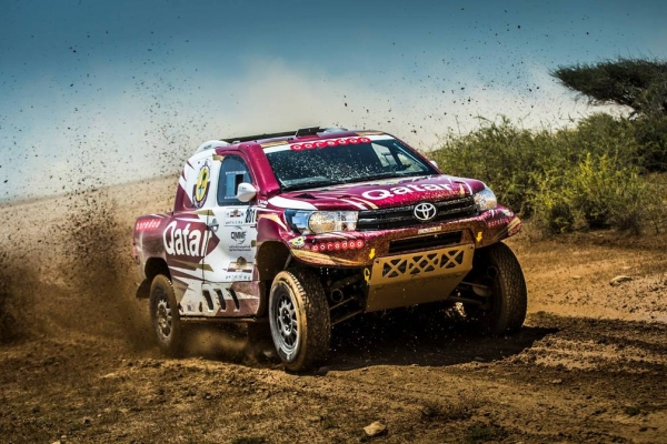 I etap Sealine Qatar Cross Country Rally 2016 - Toyota kontra MINI