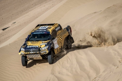 Al-Attiyah liderem Dubai International Baja 2017