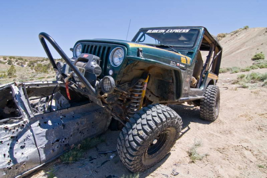 Jeep Wrangler (2008) - Maciek Stebel, czyli rock & roll z USA