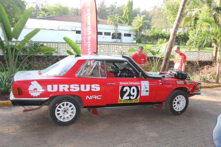 NAC Rally Team na starcie East African Safari Classic Rally 2017