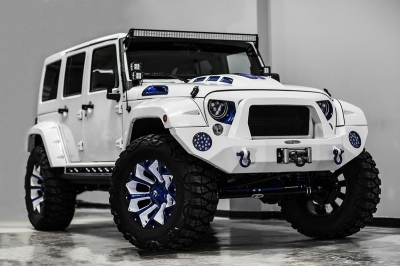 Jeep Wrangler Prestige Intimidator – tuning prestiżowy by Voltron Motors