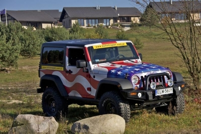 Jeep Wrangler Autotraper Edition – God bless America