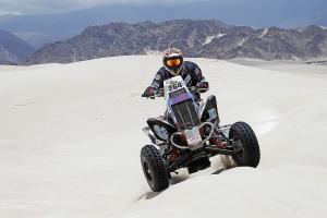 Sergey Karyakin (4. w klasie ATV) czuje się pokrzywdzony przez organizatorów Dakaru