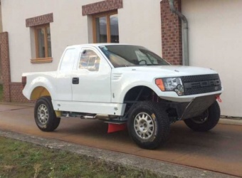 GORĄCA PREMIERA: Ford F150 EVO Mirka Zapletala i Maćka Martona - drapieżca z Czech