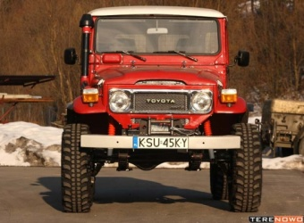 Toyota BJ40 Darka Luberdy (2009) - serwisówka totalna