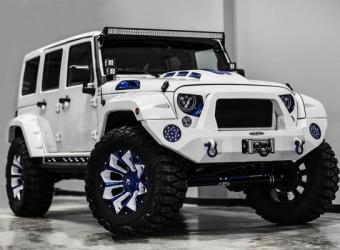 Jeep Wrangler Prestige Intimidator – tuning prestiżowy by Voltron Motors
