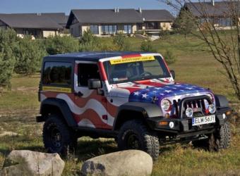Jeep Wrangler Autotraper Edition – God bless America