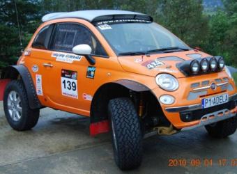 Fiat 500 (2010) wg EXTREM 4X4 i Rally Camp