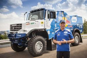 Umarł król, niech żyje Car! Nowy Kamaz na rajd Dakar 2016