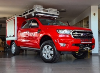 Ford Ranger gotowy do pomocy